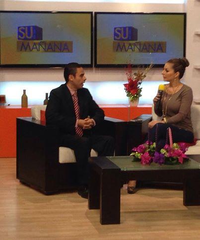 Dr Escalante en Su Mañana Canal 9